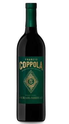 Francis Ford Coppola Winery, Green Label Diamond Series Syrah, 2016
