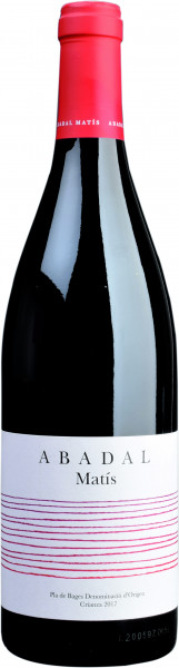 Abadal, Crianza Pla de Bages DO, 2015