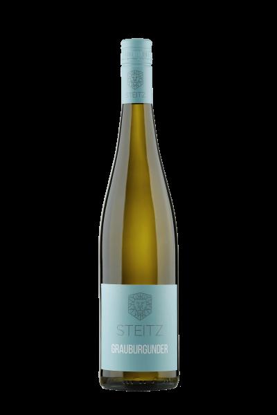 Weingut Steitz, Grauburgunder QbA trocken Vulkanstein, 2019