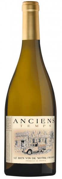 Anciens Temps, Sauvignon Chardonnay, 2018