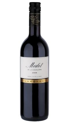 Laroche, Merlot de La Chevalière Vin de Pays d''Oc, 2013