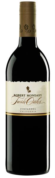 Robert Mondavi, Twin Oaks Zinfandel, 2015