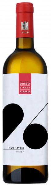 Bickel-Stumpf, Twentysix Weiss QbA trocken, 2016