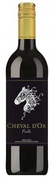 Cheval d'Oc, Merlot, Vin de Pays d'Oc, 2017