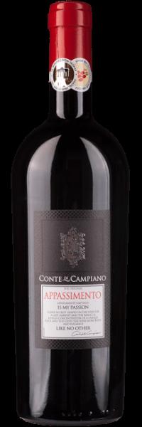 Conte di Campiano, Appassimento, 2016