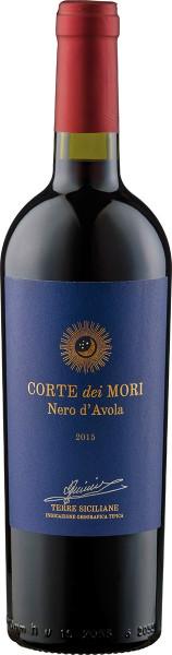 Corte dei Mori, Terre Siciliane Nero d'Avola IGT Etichetta Blu, 2015/2017