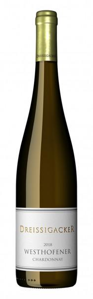 Dreissigacker, Westhofener Chardonnay QbA trocken, 2018