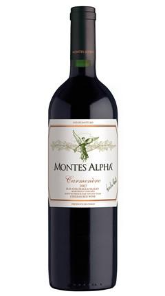 Montes, Carmenère Alpha, 2018