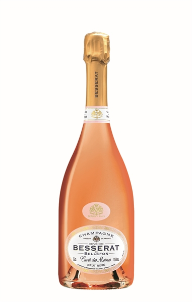 Besserat de Bellefon, Cuvée des Moines Brut Rose, N.V.