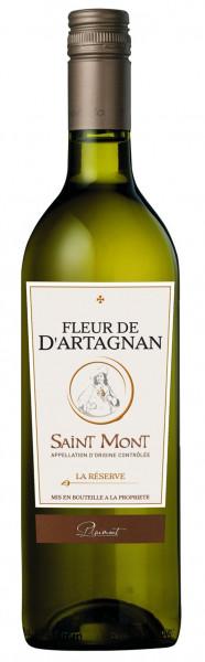 Fleur de d'Artagnan, La Réserve de d'Artagnan Blanc AOP Saint Mont, 2015
