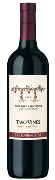Columbia Crest, Two Vines Cabernet Sauvignon, 2014