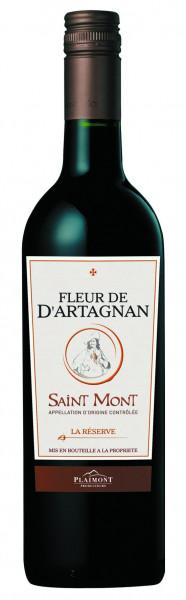Fleur de d'Artagnan, La Réserve de d'Artagnan Rouge AOP Saint Mont, 2015