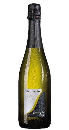 Sacchetto, Etichetta Nera Spumante Extra Dry 2016