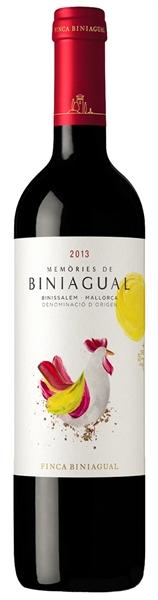 Finca Biniagual, Memòries de Biniagual Negre, 2012