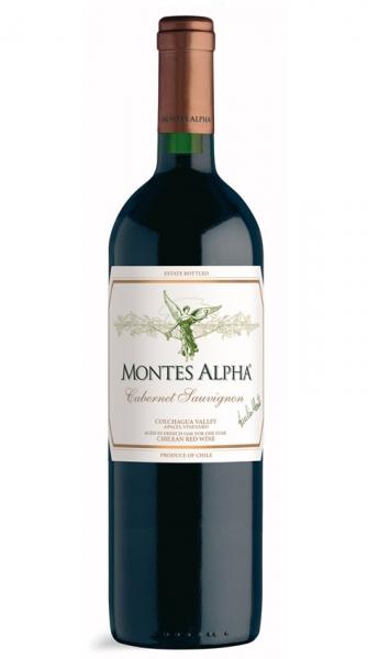 Montes, Cabernet Sauvignon Alpha, 2016