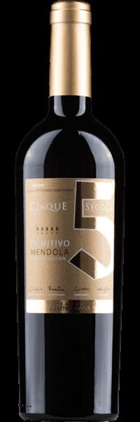 Conti Zecca, Quattro Conti Mendola Primitivo, 2016